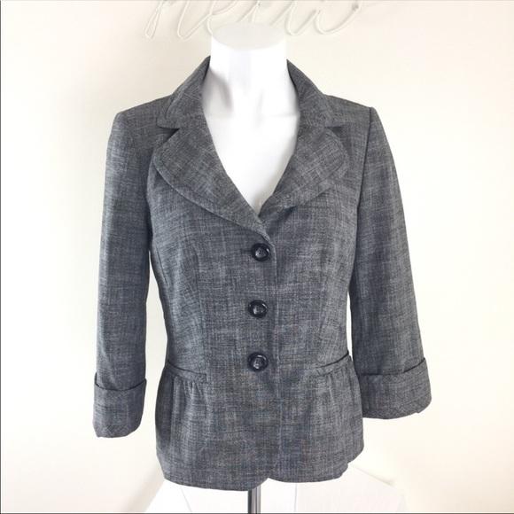 Halogen Jackets & Blazers - Halogen Nordstrom 3/4 Sleeve Womens Blazer Sz 8